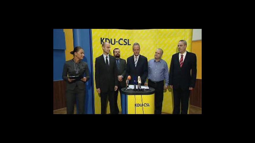 Video Brífink KDU-ČSL