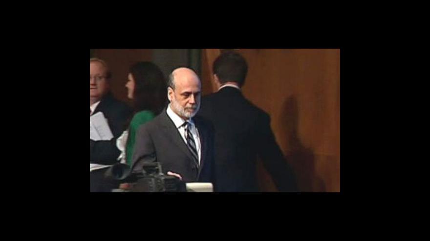 Video Zůstane Bernanke v čele Fedu?
