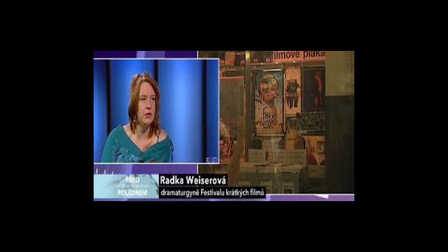 Video Rozhovor s dramaturgyní Radkou Weiserovou