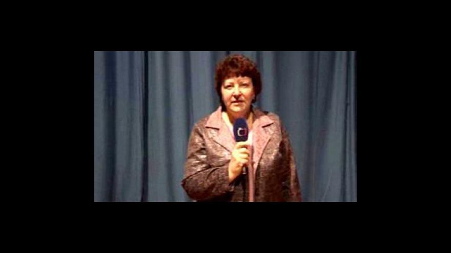 Video Reportáž Ireny Fišerové