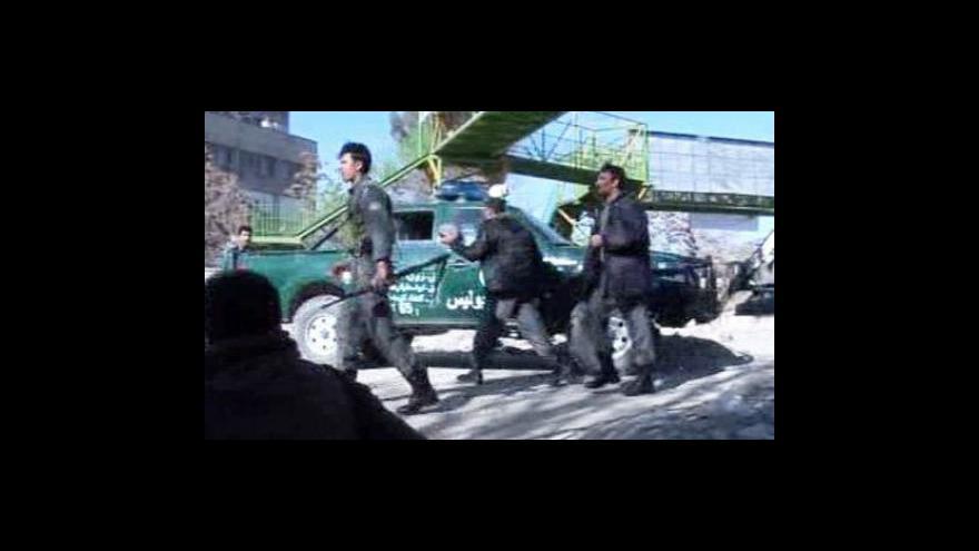 Video Petr Zavadil o útocích v Kábulu