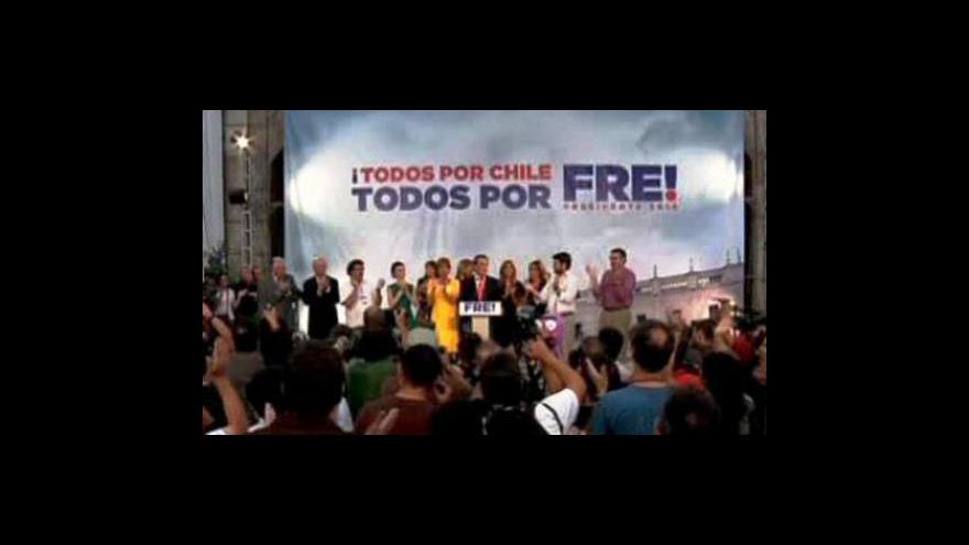 Video Sebastian Piñera byl zvolen prezidentem Chile