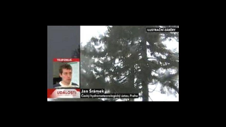Video Telefonát Jana Šrámka z ČHMÚ
