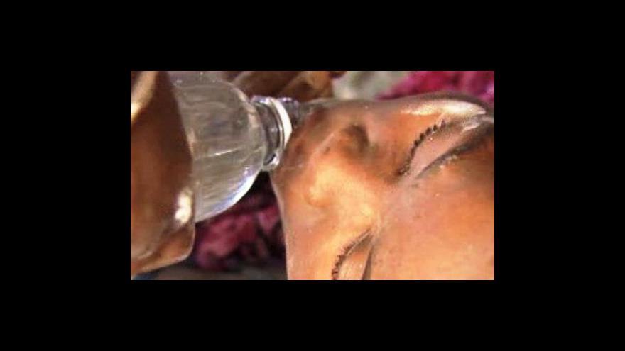 Video Události o katastrofě na Haiti