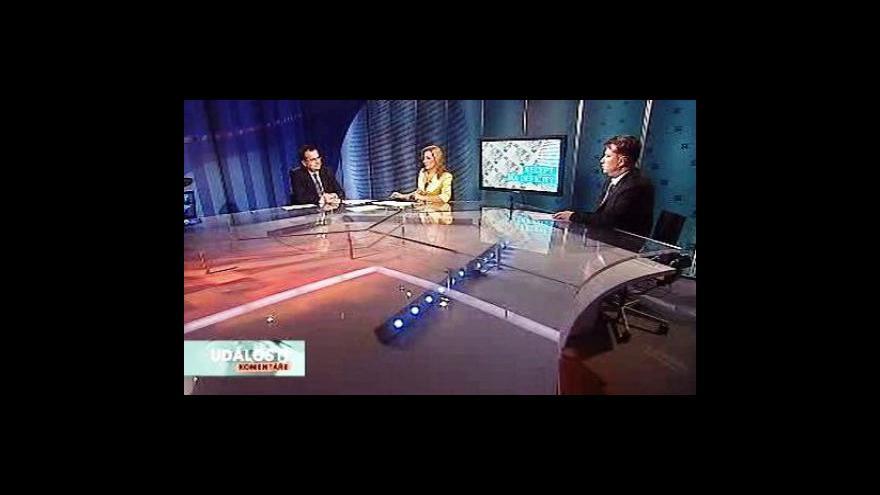 Video Martin Kocourek a Jan Mládek v Událostech, komentářích