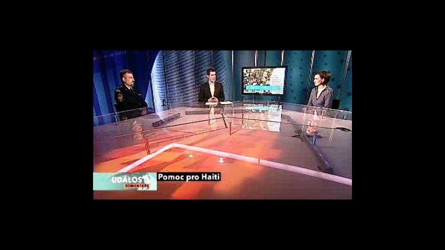 Video Michal Kubal, Petr Vitásek, Terezie Hurychová a Jaromír Dolanský v Událostech, komentářích