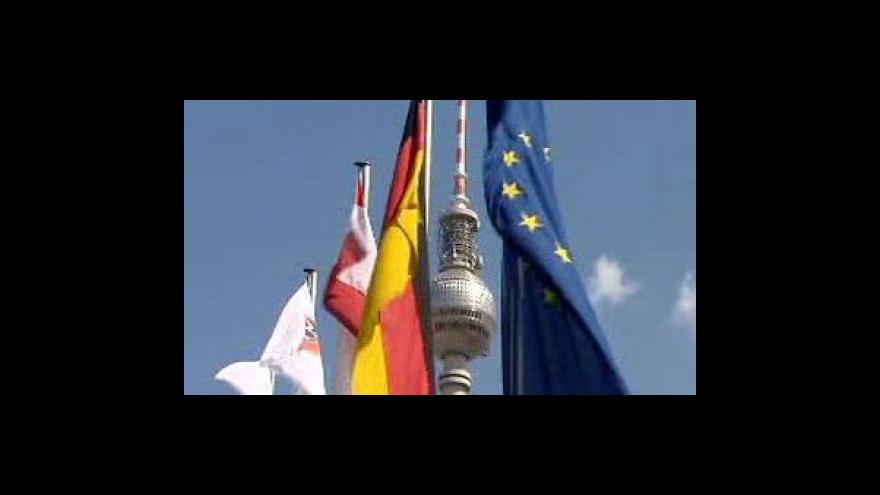 Video Německému hospodářství se loni nedařilo