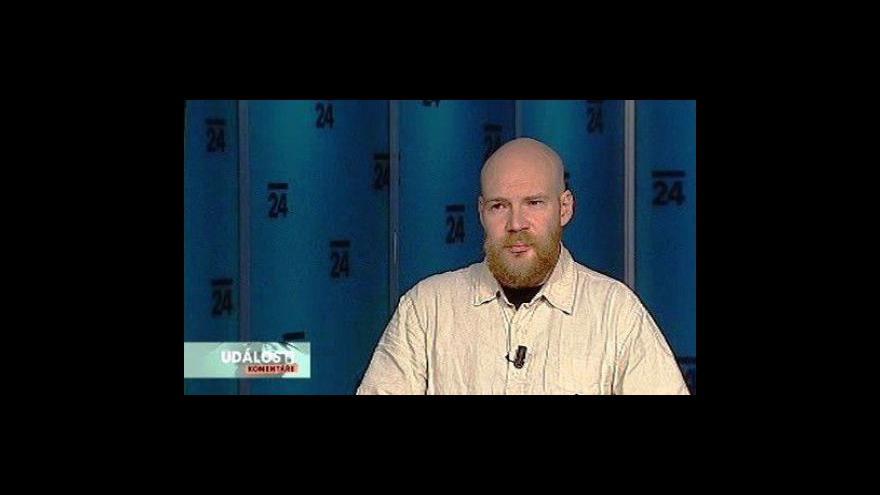 Video Politolog Ondřej Soukup v Událostech, komentářích