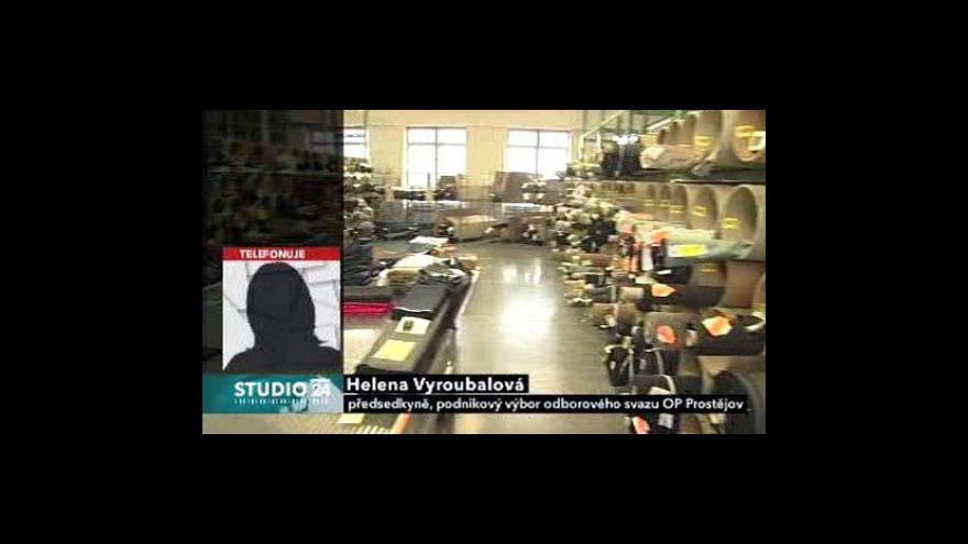 Video Helena Vyroubalová o situaci v OP Prostějov