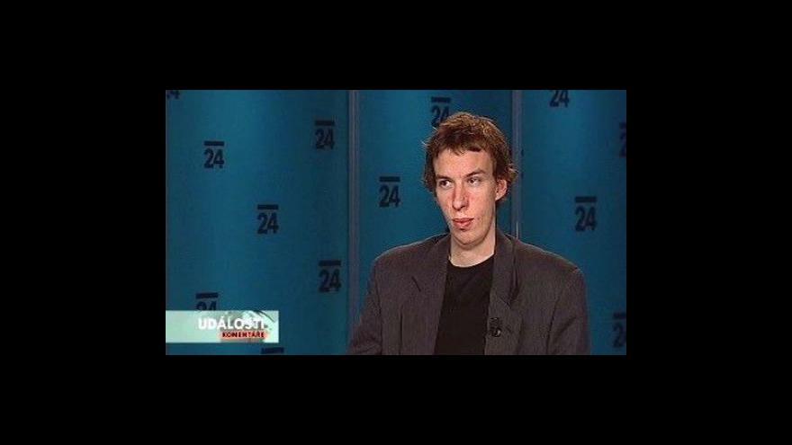 Video Odborník na extremismus František Valeš v Událostech, komentářích