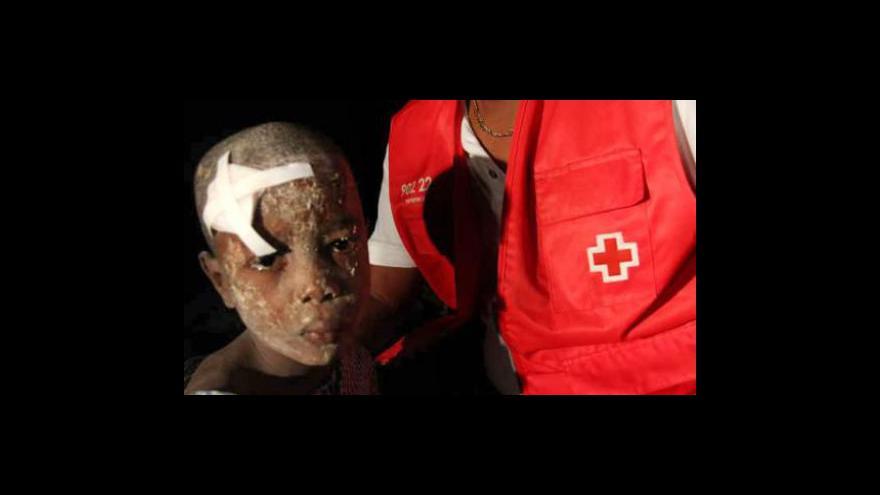 Video Zemětřesení na Haiti - Den druhý