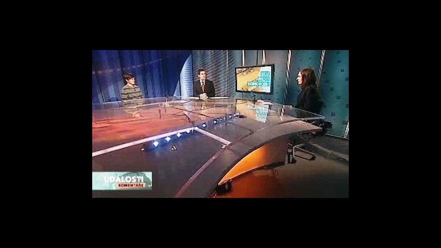 Video Klára Laurenčíková a Zdeněk Sloboda v Událostech, komentářích