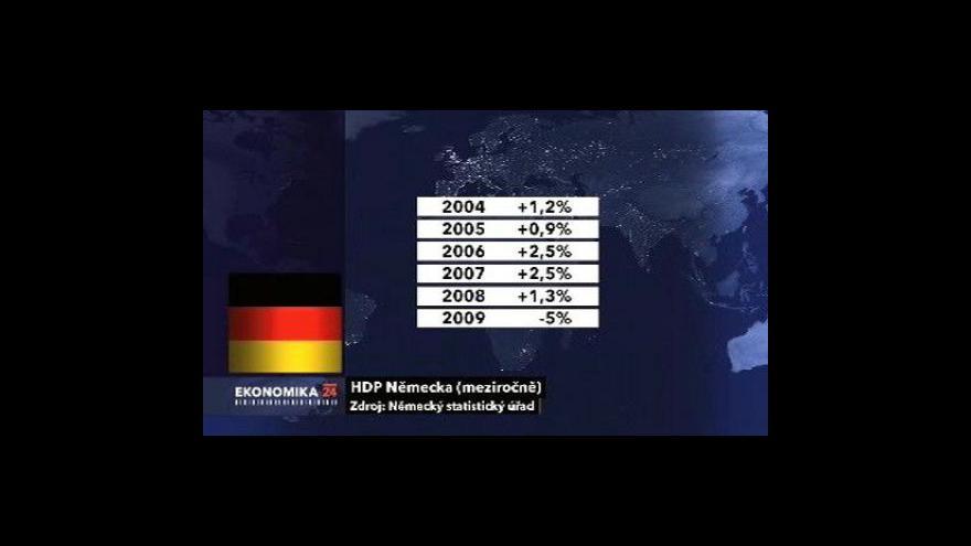 Video Něměcko v recesi