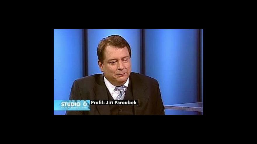 Video Jiří Paroubek v Profilu Studia 6