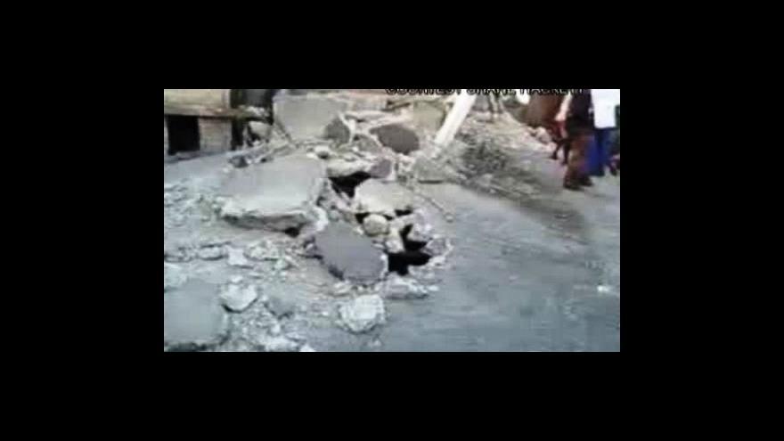 Video Haiti po zemětřesení (14:00)
