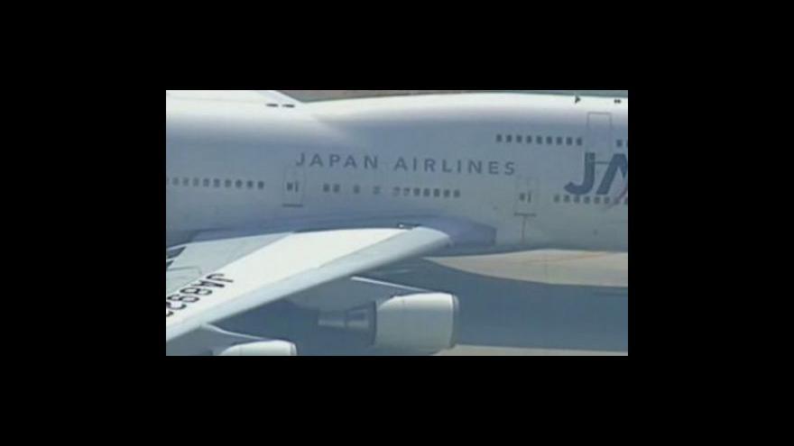 Video Japonské aerolinky podpoří stát