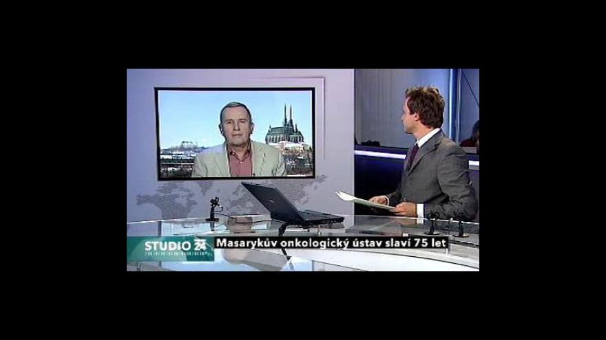 Video Jiří Vorlíček ve Studiu ČT24