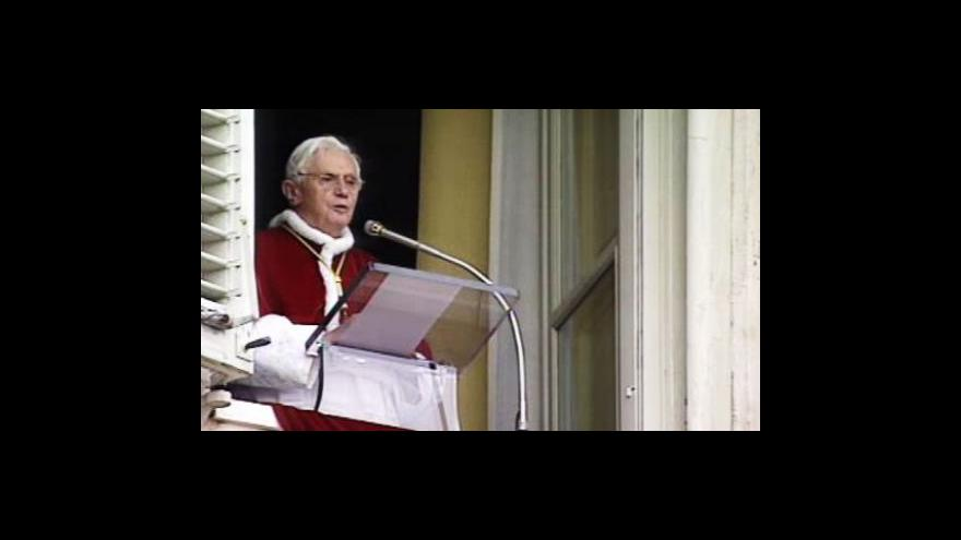 Video Papež o přistěhovalcích