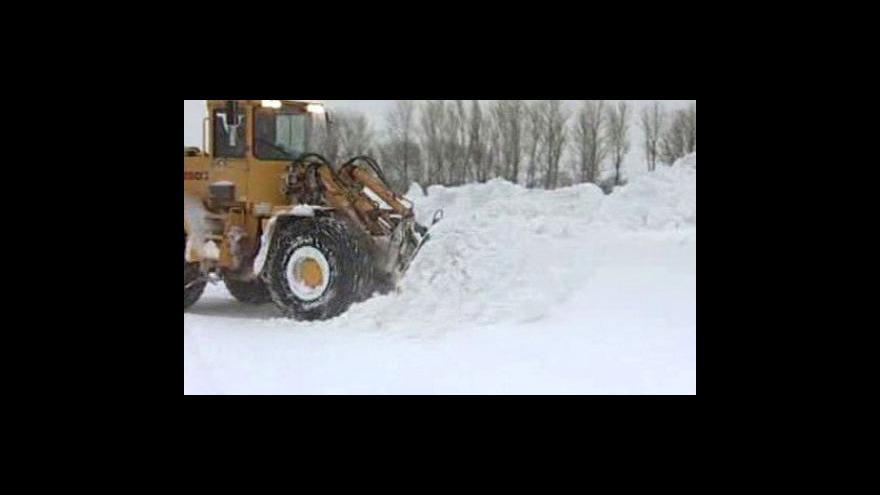 Video Sníh v Evropě