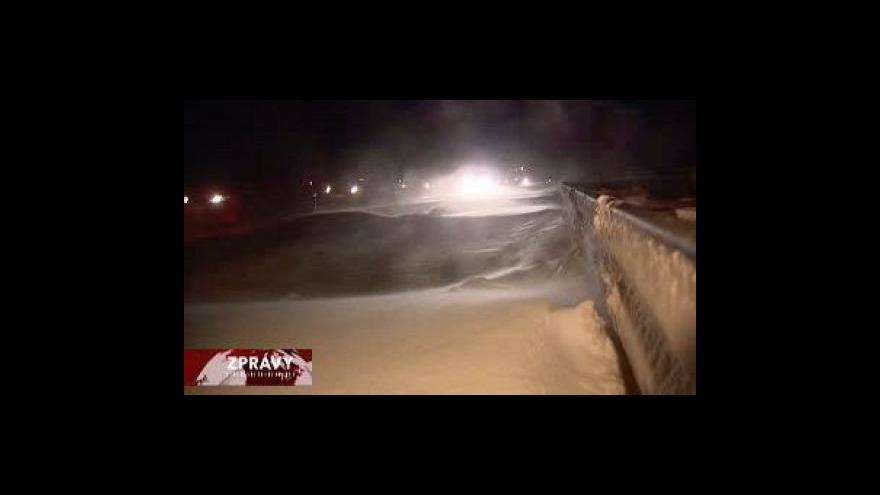 Video Sněhová situace v Evropě