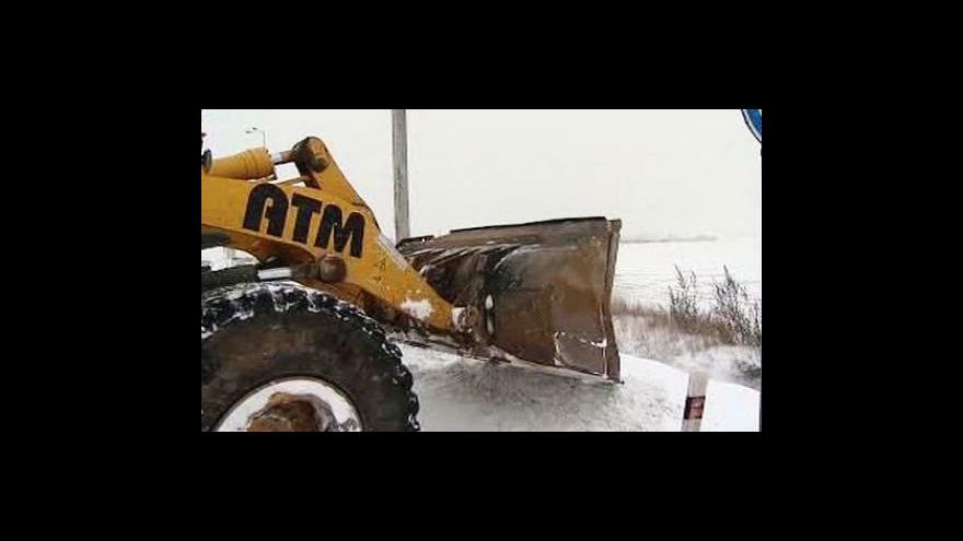 Video Česko čelí přívalům sněhu