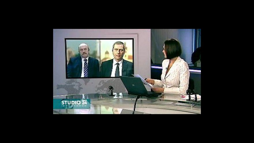 Video Studio ČT24 k problematice sociálního pojištění