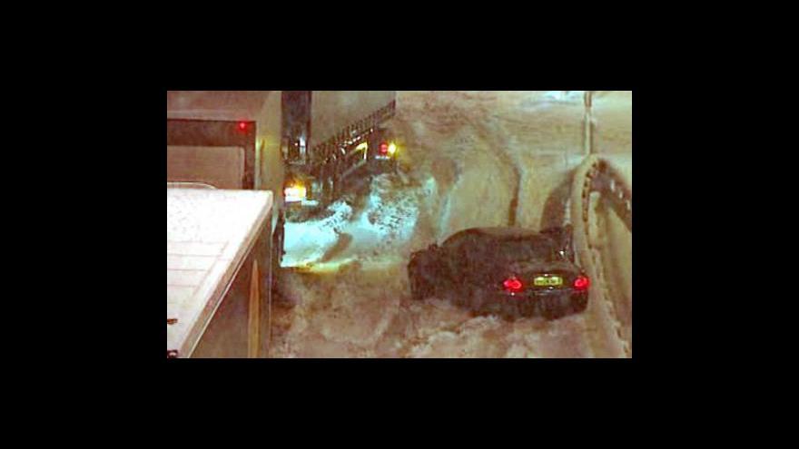 Video Filip Kanda o sněhové kalamitě v Evropě