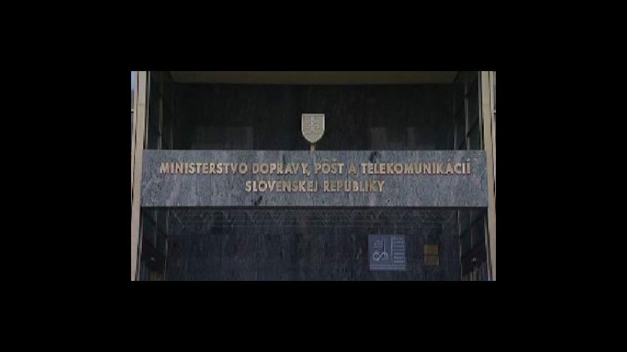Video Brífink slovenského ministra dopravy k mýtnému