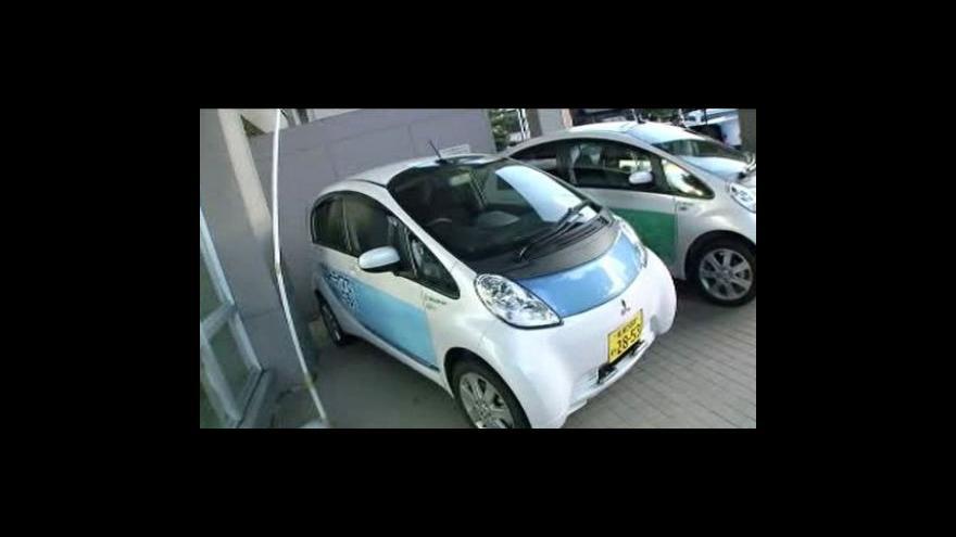 Video Japonské Sapporo zavádí elektromobily