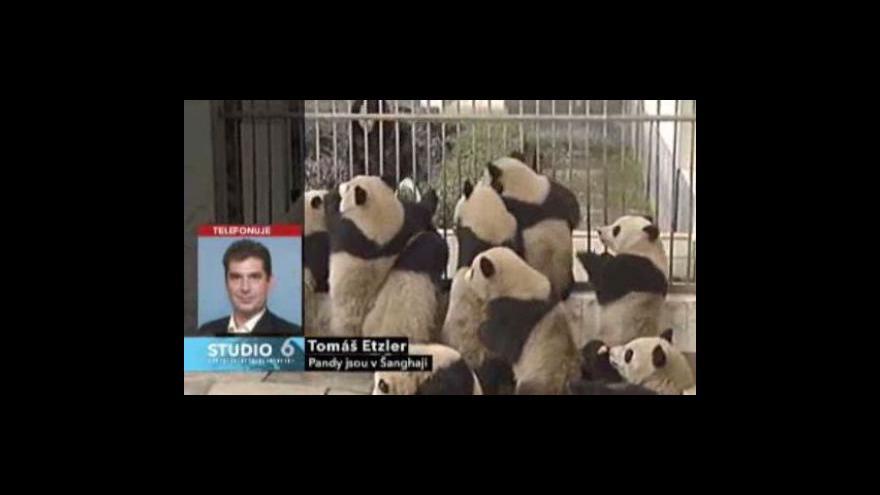 Video Tomáš Etzler o čínských pandách