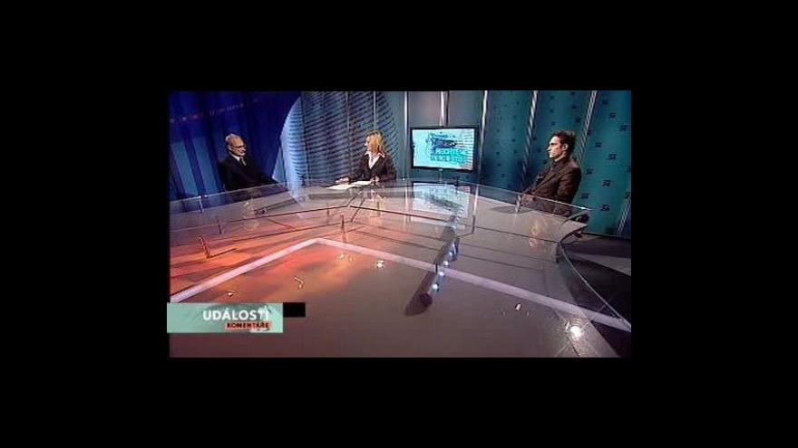 Video Události, komentáře o skandálu s výbušninou