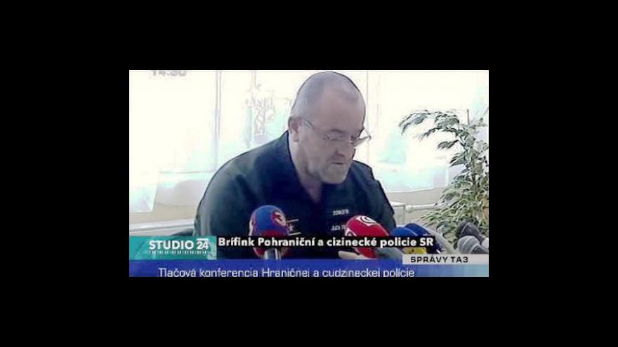 Video Brífink Pohraniční a cizinecké policie SR