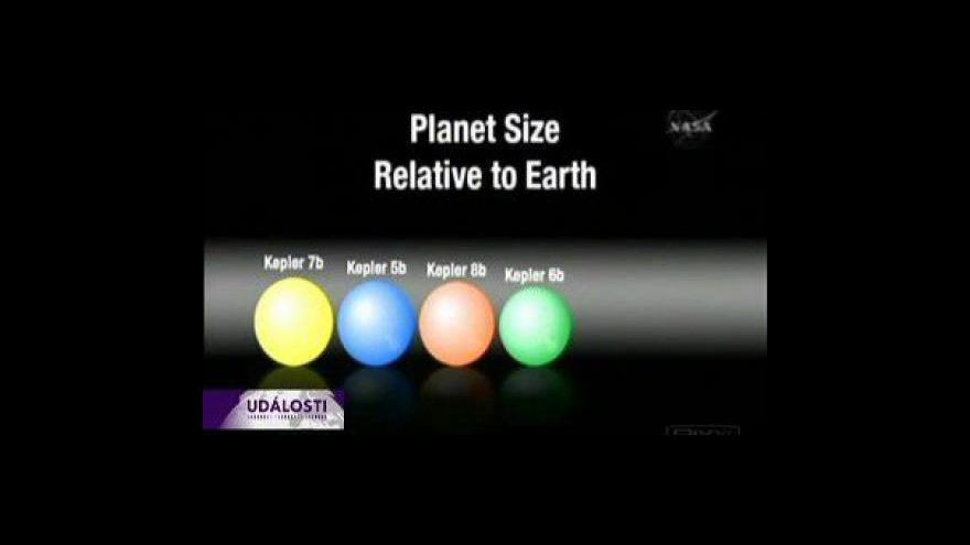 Video Keplerův teleskop našel nové exoplanety