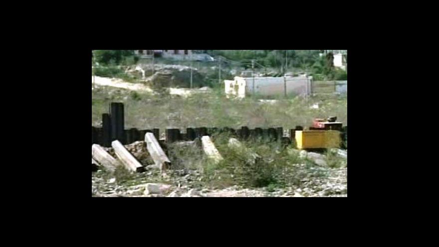 Video Egypt střeží hranice s Gazou