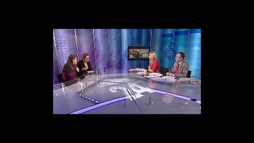 Video Rozhovor s Michaelou Hronovou a Barbarou Čechovou