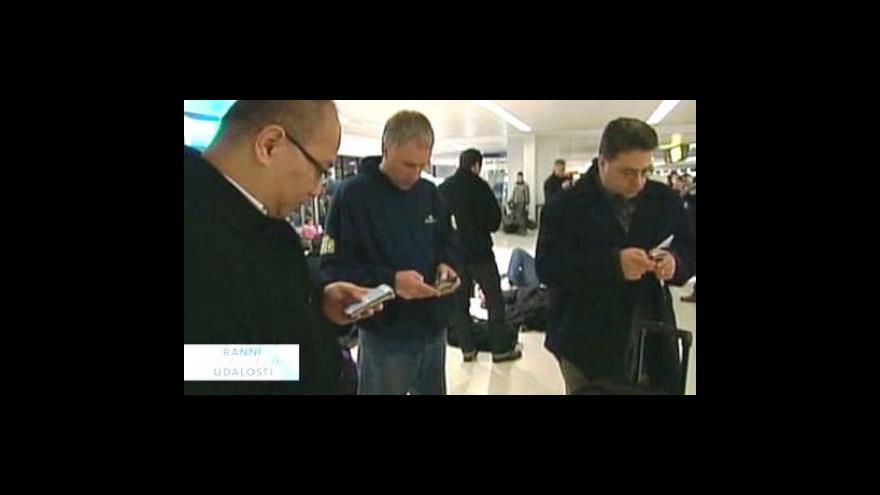 Video Uzavření terminálu v Newarku