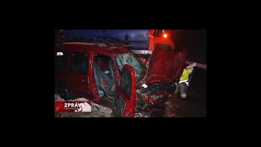 Video Na Ostravsku zemřela při nehodě žena