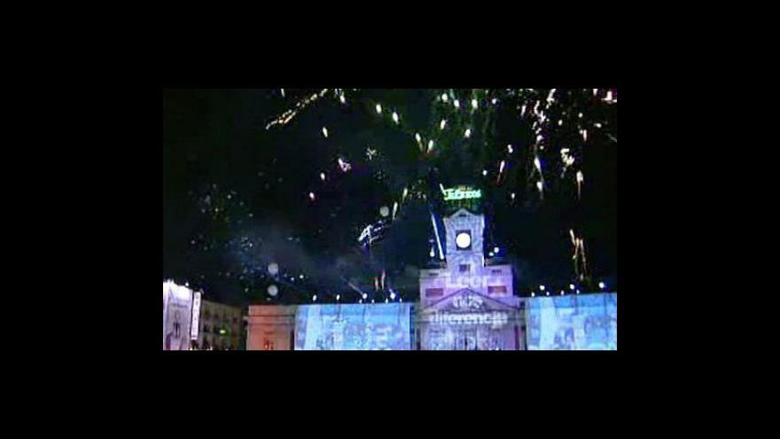 Video Novoroční oslavy ve světě