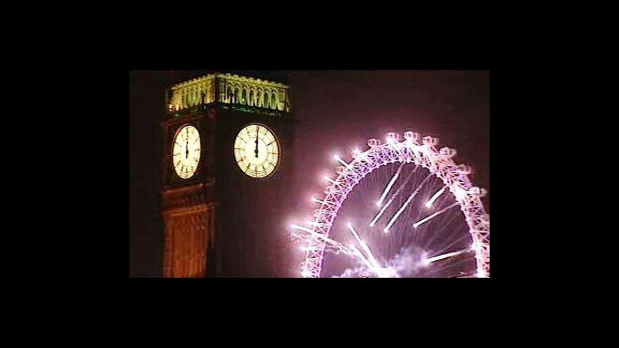Video Oslavy nového roku v Evropě