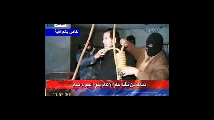 Video Výročí popravy Saddáma Husajna