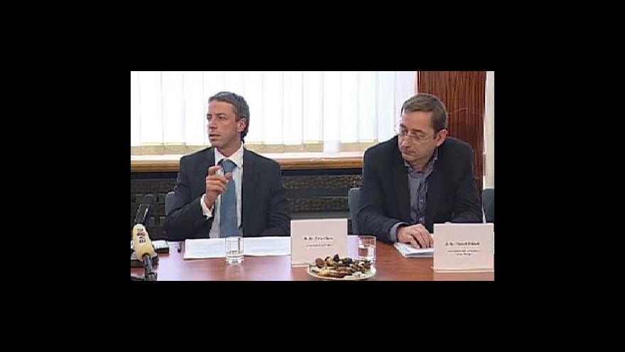 Video Brífink Rady hlavního města Prahy