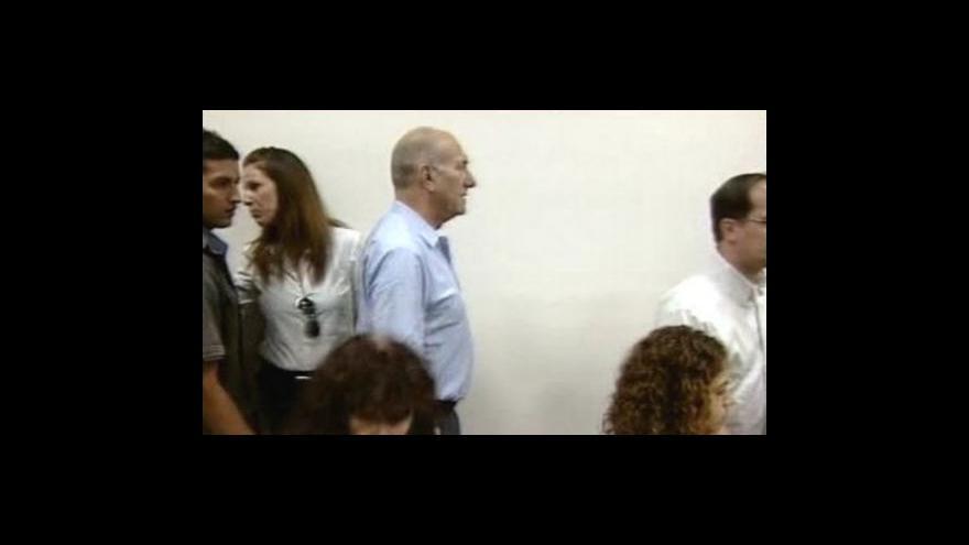 Video Olmertův případ spěje ke konci