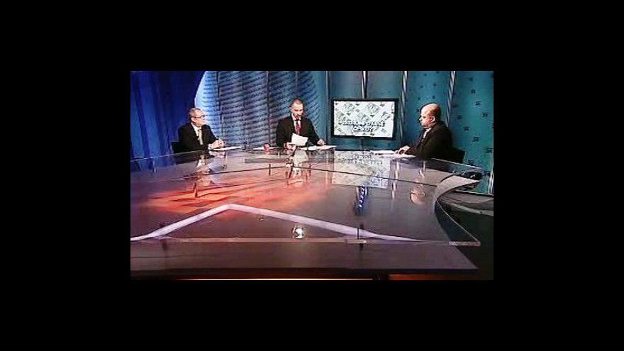 Video Martin Pecina, Ivo Strejček a Martin Kameník v Událostech, komentářích