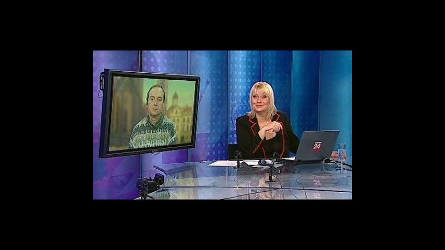 Video Roman Komenda a Pavel Moucha ve Studiu ČT24