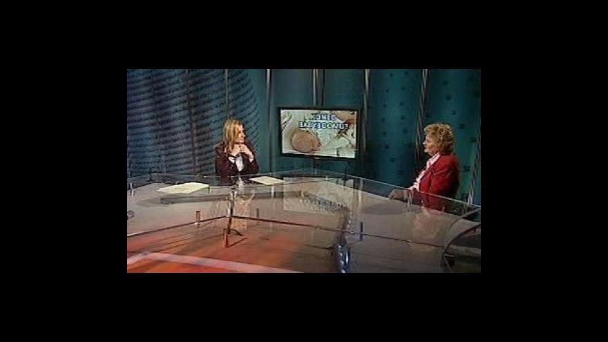 Video Rozhovor s Jitkou Rychtaříkovou v Událostech, komentářích