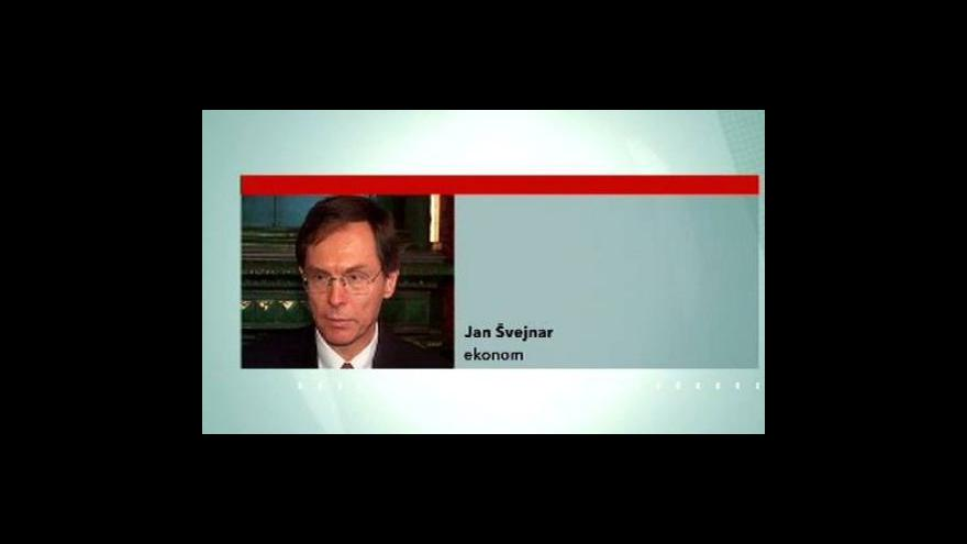 Video Telefonát ekonoma Jana Švejnara