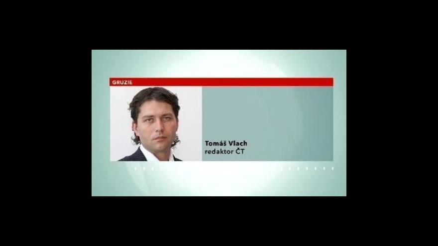 Video Telefonát Tomáše Vlacha z Gruzie