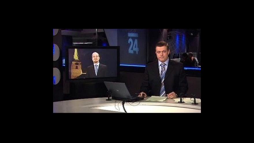 Video Vstup a reportáž Karla Vovesného