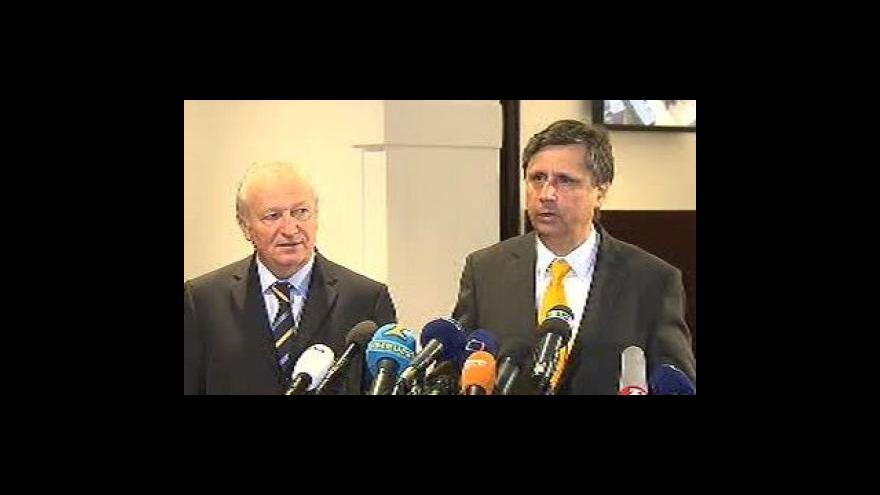 Video Reakce Jana Fischera a Eduarda Janoty na schválení rozpočtu