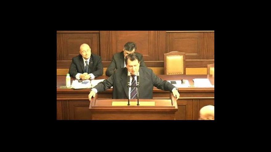 Video Poslanci schválili rozpočet